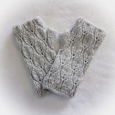 A R0SEDEW CREATI0NS DESIGN!   ---------------------------------------------- Leafy Fingerless Mitts and Boot Cuffs Description: ---------------------------------------------- ♥ comfy and stretchy ♥ textured with lovely leaf motif design ♥ keeps hands warm while allowing for fine finger manipulations ♥ upper mitts and boot cuffs hug your wrists and calves ♥ one of a kind design! ♥ high quality craftsmanship!   ---------------------------------------------- Measurements…