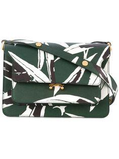 Achetez Marni floral print shoulder bag.