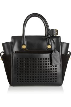 I really can't tell you how much I lust over Reed Krakoff Atlantique totes in all shapes, sizes, and colors.