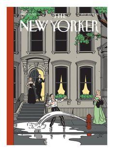 Art.fr - Reproduction procédé giclée Premium 'The New Yorker Cover - July 23, 2001' par Jean Claude Floc'h