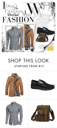"""""""Win $20 Cash from Rosegal!"""" by irmela-faic ❤ liked on Polyvore featuring Balenciaga, men's fashion and menswear"""