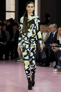 Christian Dior Fall 2015 Ready-to-Wear Fashion Show - Laura Winges Dior Fashion, Runway Fashion, Fashion Show, Fashion Design, Fashion 2015, Fashion Week Paris, Christian Dior, Style Couture, Haute Couture Fashion