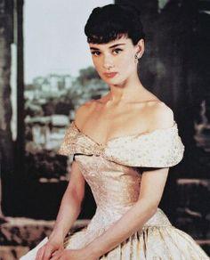 "Audrey Hepburn in ""Roman Holiday,"" 1953. Designer: Edith Head"