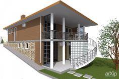 Коттедж. Широкая щель. Геленджик: архитектура, 2 эт | 6м, жилье, минимализм, 200 - 300 м2, фасад - кирпич, коттедж, особняк #architecture #2fl_6m #housing #minimalism #200_300m2 #facade_brick #cottage #mansion arXip.com