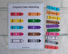 Color Activities For Toddlers, Preschool Colors, Toddler Learning Activities, Preschool Learning Activities, Educational Activities, Preschool Assessment, Preschool Decor, Preschool Prep, Cooperative Learning