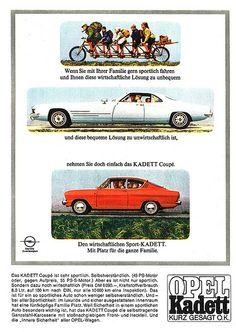 Opel Kadett B (1967) Das wirtschaftliche Sport - Coupé