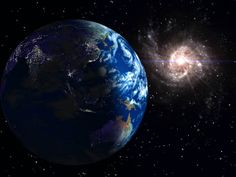 planet earth   Planet Earth At Night Pics. ~ PopGive