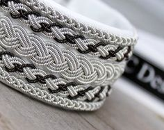 Sami bracelet saami armband bracelet lapon by ACDesignJewellery Reindeer Antlers, Viking Bracelet, Diy Accessories, Bushcraft, Pewter, Knots, Jewelry Making, Wire, Bracelets