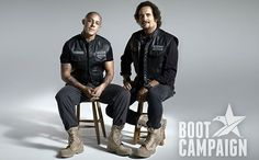 Sons of Anarchy fans will be seeing even more of Juice (Theo Rossi), Tig (Kim Coates), and Unser (Dayton Callie) during commercial breaks on FX.
