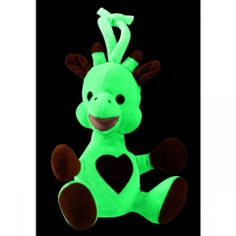 That Glows In The Dark To Comfort Baby At Bedtime Thanks Its Photo Luminescent Material Stuffed Toy Charges Up Natural Or Artificial Light