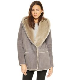 Danier: Analisa Shearling Coat | C'est trop froid | Pinterest