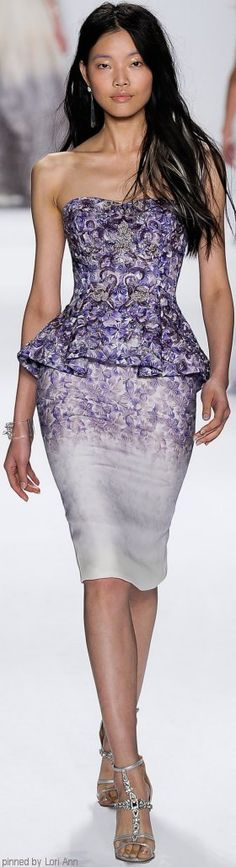 Badgley Mischka Spring 2015 RTW