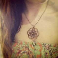 Hey, I found this really awesome Etsy listing at https://www.etsy.com/listing/112368040/wood-flower-of-life-chain-necklace
