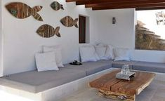 Villa Vedra, Ibiza - why not rent Villa Vedra in Ibiza? Check out this stunning Ibiza rental Villa Vedra. To enquire, simply call 0800 133 Villa Design, House Design, Outdoor Spaces, Outdoor Living, Interior And Exterior, Interior Design, New Homes, Living Room, House Styles