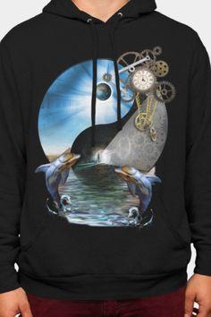 Shop NadineMay's designs on Design By Humans. Cell Phone Covers, Yin Yang, Graphic Sweatshirt, T Shirt, Hoodies, Sweatshirts, Steampunk, Art Prints, Shopping