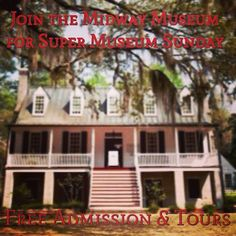 The Midway Museum will offer FREE admission and tours on Sunday, February 8th from 1pm-4pm. Georgia's ONLY Colonial Museum also features a historic church & cemetery. Located at 491 N. Coastal Hwy. in Midway, Georgia. Call 912-884-5837 for more details. #libertycounty #exploregeorgia #supermuseumsunday #history #museum #colonial #revolutionarywar #civilwar #coastalgeorgia #tourism