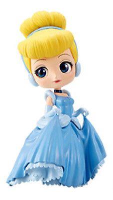 Banpresto Q Posket Disney Vol 4 Cinderella Figure Normal Color