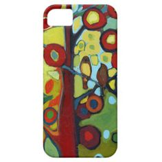 Abstract Bird Art iPhone 5 Barely There Case iPhone 5 Covers