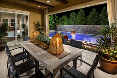 The Highlands at Baker Ranch in Lake Forest, CA - San Gabriel Model California Room