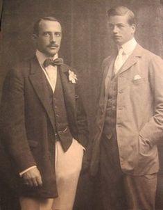 Consuelo's brother's William K. Vanderbilt II and Harold Sterling Vanderbilt.