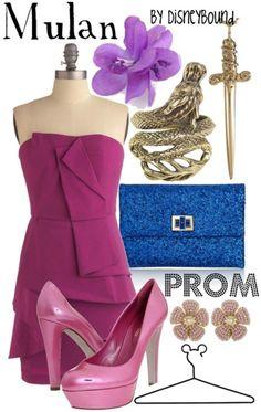 Mulan | 16 Disney-fied Prom Ensembles