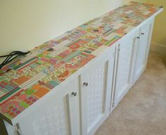 Make A Storage Unit From Salvaged Materials