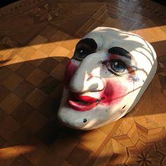 Ueli Larve, by Larven Atelier Charivari in Basel, CH #basilea #fasnachtbasel #fasnachtslarve #baslerlarve #waggis #waggislarve #bâle #lovebasel #basellove #baselculture #kulturbasel #kunst #kunstbasel #basel #baselstadt #baselland #larven #masks #basel #baslerfasnacht #larvenmacher #maskmaker #ateliercharivari #larvenateliercharivari #art #carnivalofbasel #baselmasks #theatremasks #baslerfasnacht #fasnachtbasel @ateliercharivari Masks, Halloween Face Makeup, Beauty, Art, Basel, Atelier, Culture, Rings, Projects