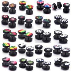 Fake Ear Plug Mixed Styles Taper Stretching Kit & Expander Body Jewelry Earring 40pcs YANTU http://www.amazon.com/dp/B00ESRLHAS/ref=cm_sw_r_pi_dp_O7hnvb1Q3GTPK
