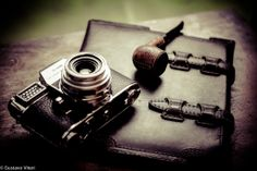 Gustavo Viteri shows us things that he's passionate about - photography, pipes, and leather.