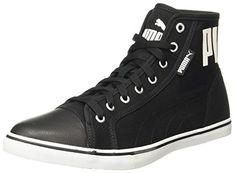 e35c8497617b Puma Men s Streetballer Mid Puma Black-White-Silver Sneakers - 5 UK India  (38 EU) (36615301)