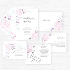 The Olivia Collection  Hand-Painted Watercolor von MyBelovedPaper