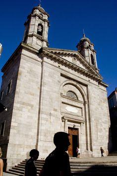 Colegiata, Vigo. (Pontevedra). Galicia. Spain..