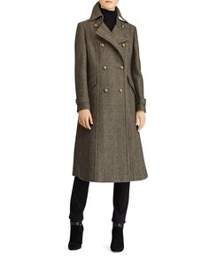 Lauren Ralph Coats Bloomingdale's Jackets amp; Coat Women Breasted Double TzdxzqCw