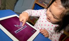 Middle-class angst over technology in the early years. Snapdragon, one of the first preschools in England to use Ipads. Best Educational Apps, Educational Games For Kids, Eyfs Activities, Activities For Kids, Activity Ideas, Teaching Kids, Kids Learning, Letter Games, Letter Formation
