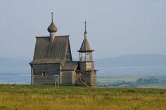 Wooden Church in Russia