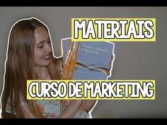 Materiais que usei na Faculdade de Marketing (EAD)