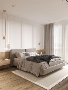 Goodhouse on Behance Home Decor Bedroom, Modern Bedroom, European Bedroom, Minimalist Furniture, Home Room Design, Suites, Apartment Interior, Luxurious Bedrooms, House Rooms