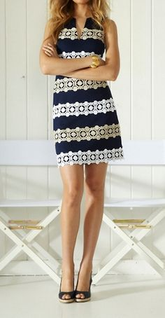 Another great cut of dress! Would flatter me well! Love the detailing too!