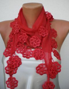 My handmade scarves- new fashion- sold