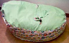 verde manzana con buhos fila