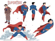 """birdstump: """" Lois, Jimmy and Clark designs: take three — by Brittney Williams """" Just realizing these designs made it over to Tumblr, I need to get out from beneath my rock! Thanks for sharing..."""