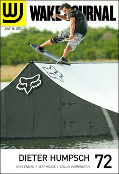 July 16th, 2012 - Wake Journal 72 featuring Dieter Humpsch on the cover and 30+ pages of incredible wakeboarding and wakeskating photography. Download the app to subscribe today! http://www.i.wjmag.com/app