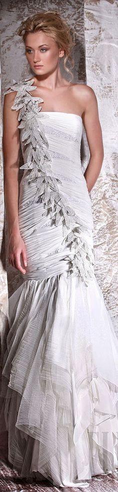 Tony Ward Couture - Summer 2012 Bride Collection  #bride #dress <3