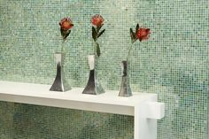 Create a decorative feature wall with brightly coloured in your of choice Color Pop, Colour, House Colors, Mosaics, Bright Colors, Create, Wall, Inspiration, Decor