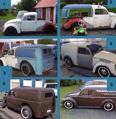 "Homemade VW Classic...BBC Boracay says: "" Back of old VW T2, front is beetle..Together the look awesome!"""