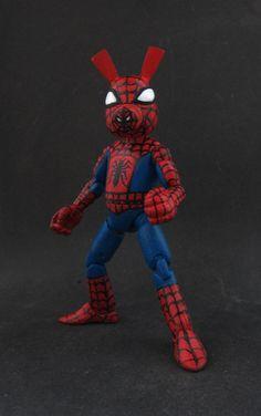 Marvel Spider-Ham (Spider-Man) Custom Action Figure