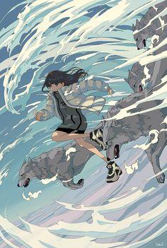 Anime Scenery Wallpaper, Anime Artwork, Anime Art Girl, Manga Art, Whatsapp Wallpaper, Japon Illustration, Cloud Illustration, Animes Wallpapers, Japanese Art