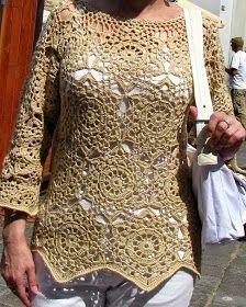 Lindo modelo de blusa da net...                                     Gráfico
