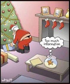 Santa keeps a closer eye on the naughty list.