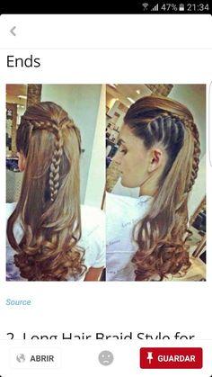 Types for Hair Braids Plats Hairstyles, Cool Braid Hairstyles, Straight Hairstyles, Girl Hairstyles, Cool Braids, Braids For Short Hair, Short Hair Styles, Eva Hair, Viking Hair